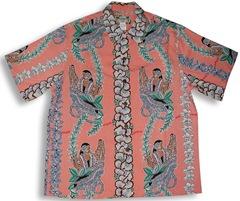 Lei Lady Men's Kamehameha Shirt
