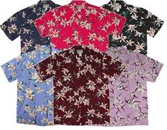 Star Orchid Men's Shirt