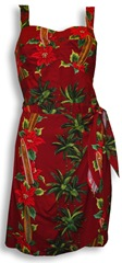 christmas sarong dress