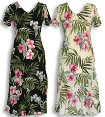 Pale Hibiscus Orchid-dress
