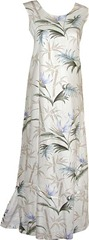 bamboo paradise long tank dress