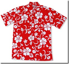 Men's Polo Style Cotton Aloha RJC Hawaiian Shirt