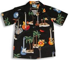 Hawaiian Rock Guitars