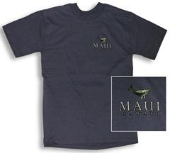 maui whale t-shirt