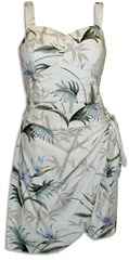 Bamboo Paradise Sarong Dress