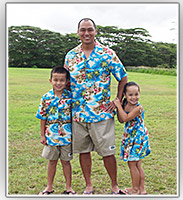 Hbiscus Islands Matching Family Outfits