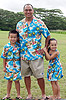 Hibiscus Hawaiian Islands Matching Family Outfit Online