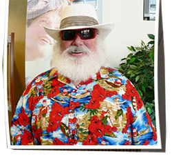 Santa Beach Fun Men's Shirt