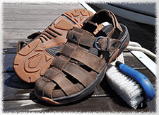 Rugged Shark Greenwich - Surf and Turf Sandal