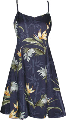 Bamboo Paradise Hawaiian Sun Dress
