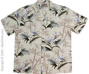 Bamboo Paradise Hawaiian Shirt