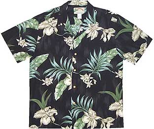 Floating Orchid Hawaiian Shirt