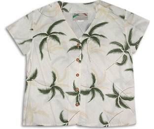 Hurricane Hawaiian Blouse
