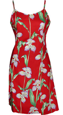 Orchid Panel Sun Dress
