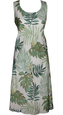 Leaves Hawaiian Short Tank Dress